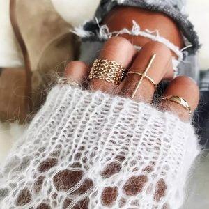 💕Boho 7 Piece ring set
